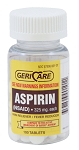ASPIRIN TABLETS - 100 TABLETS 325mg