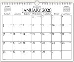 AT-A-GLANCE 2020 Business Monthly Wall Board Calendar 997-1-20