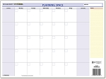 AT-A-GLANCE 2020 QuickNotes Compact Erasable Wall Calendar 11 3/4