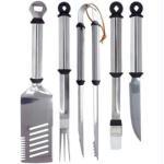 BR 5 Piece Grill Tool Set