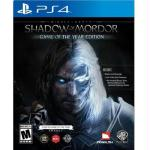 Me Shadow Of Mordor Goty Ps4