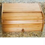 Bamboo Rolltop Bread Box