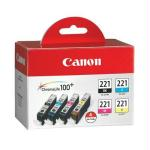 4 Color Pack Ink Tank CLI-221