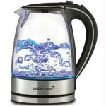 Borosilicate Glass Kettle Blk