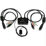 2 Port HDMI Cable KVM Switch