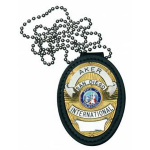 Recessed Federal Badge Holder