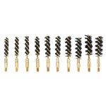 Variety Replacement Bronze Brushes 10-pack