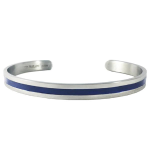 Women's Thin Blue Line Bangle