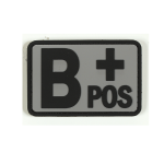 Blood Type B+ Patch