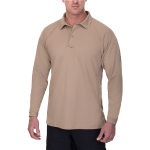 Vertx Coldblack Men's Long Sleeve Polo