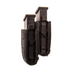 Duty Staggered Double Pistol Taco Pouch U-mount