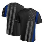 Athletic T-shirt - All-over, Thin Blue Line