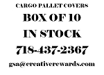 Military Cargo Pallet Covers PLASTIC CARGO PALLET COVERS 10 PACK
