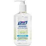 PURELL 12oz Pump Hand Sanitizer Refreshing Gel Kills 99.99% of Germs that cause illness GOJ369112 Green Certified