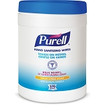 PURELL 270 Alcohol Hand Sanitizing Wipes Kills 99.99% of Germs that cause illness GOJ911306