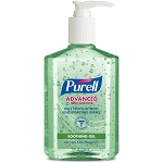 PURELL 8oz Pump Hand Sanitizer Aloe Kills 99.99% of Germs that cause illness GOJ967412