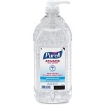 PURELL 2 Liter Pump Hand Sanitizer Soothing Gel Kills 99.99% of Germs that cause illness GOJ962504