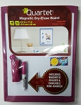 Quartet Small Home Office Magnetic Dry Erase Board with Eraser and Marker