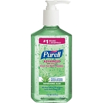 PURELL 12 OZ Hand Sanitizer Soothing Gel Kills 99.99% of Germs that cause illness.